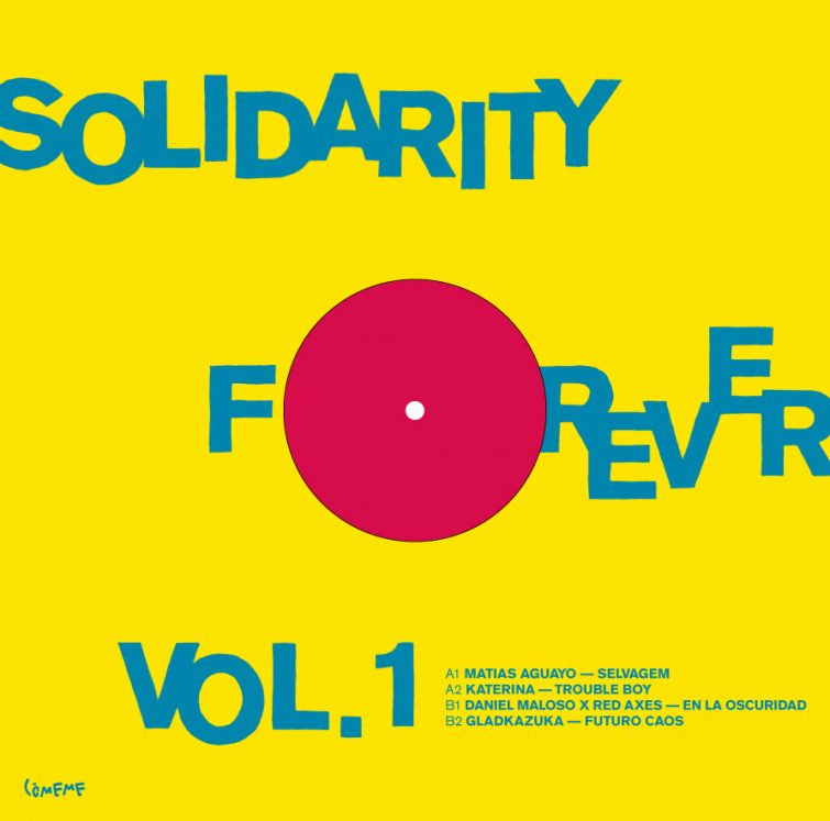 Comeme Solidarity Forever Vol 1 Sleeve Back