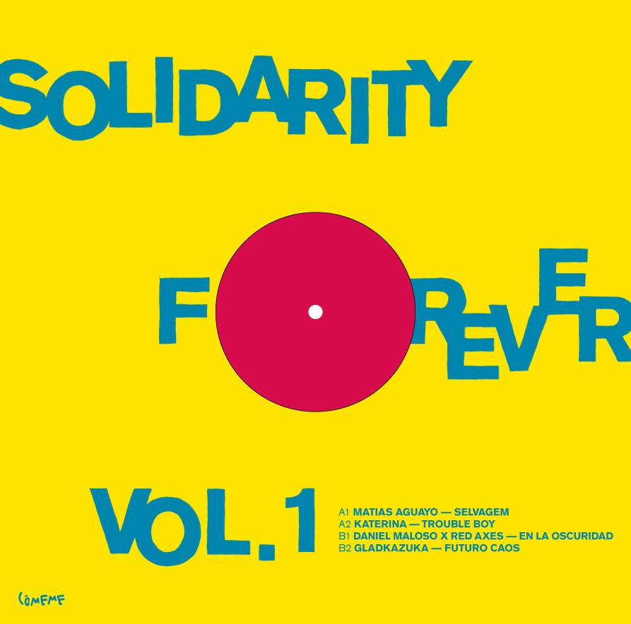 Comeme Solidarity Forever Vol 1 Sleeve Back
