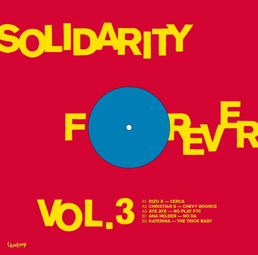 Comeme Solidarity Forever Vol 3 Sleeve Back
