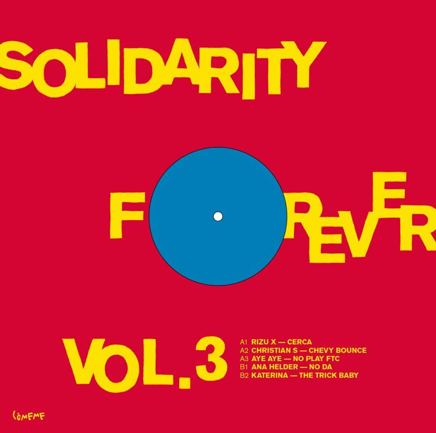 Comeme Solidarity Forever Vol 3 Sleeve Back