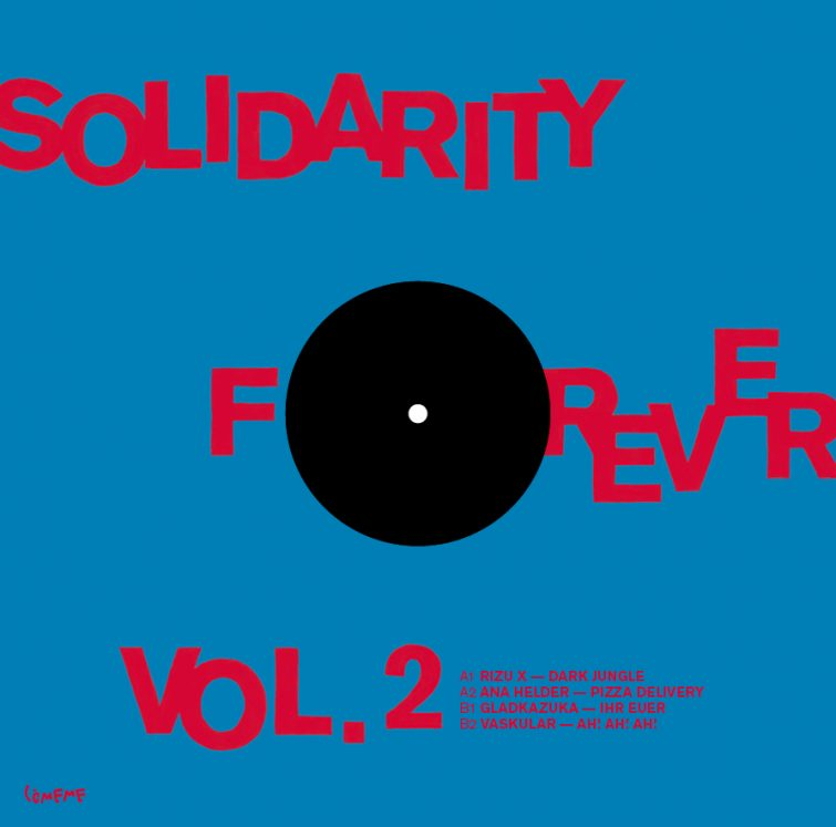 Comeme Solidarity Forever Vol 2 Sleeve Back