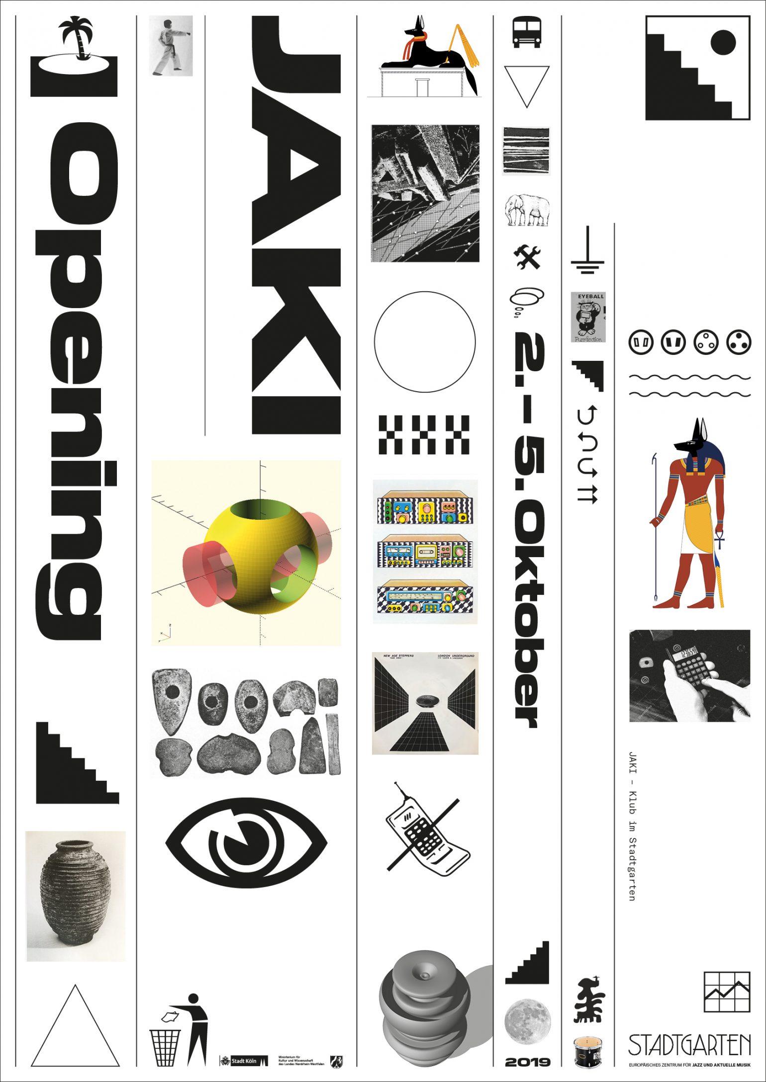 A1_Poster_Jaki_Opening_ChristianSchaefer
