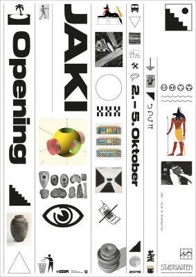 Poster Jaki Opening